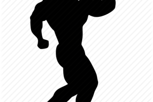 gym silhouette png 4