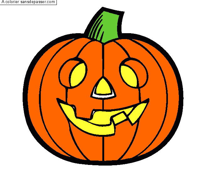 Halloween Dessin Couleur Png 7 Png Image