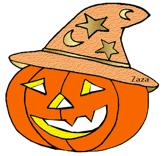 Halloween Dessin Couleur Png Png Image