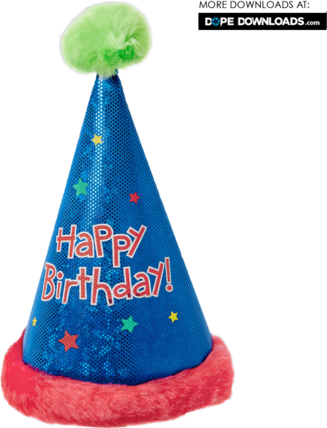 Happy Birthday Cap Png 4 Png Image