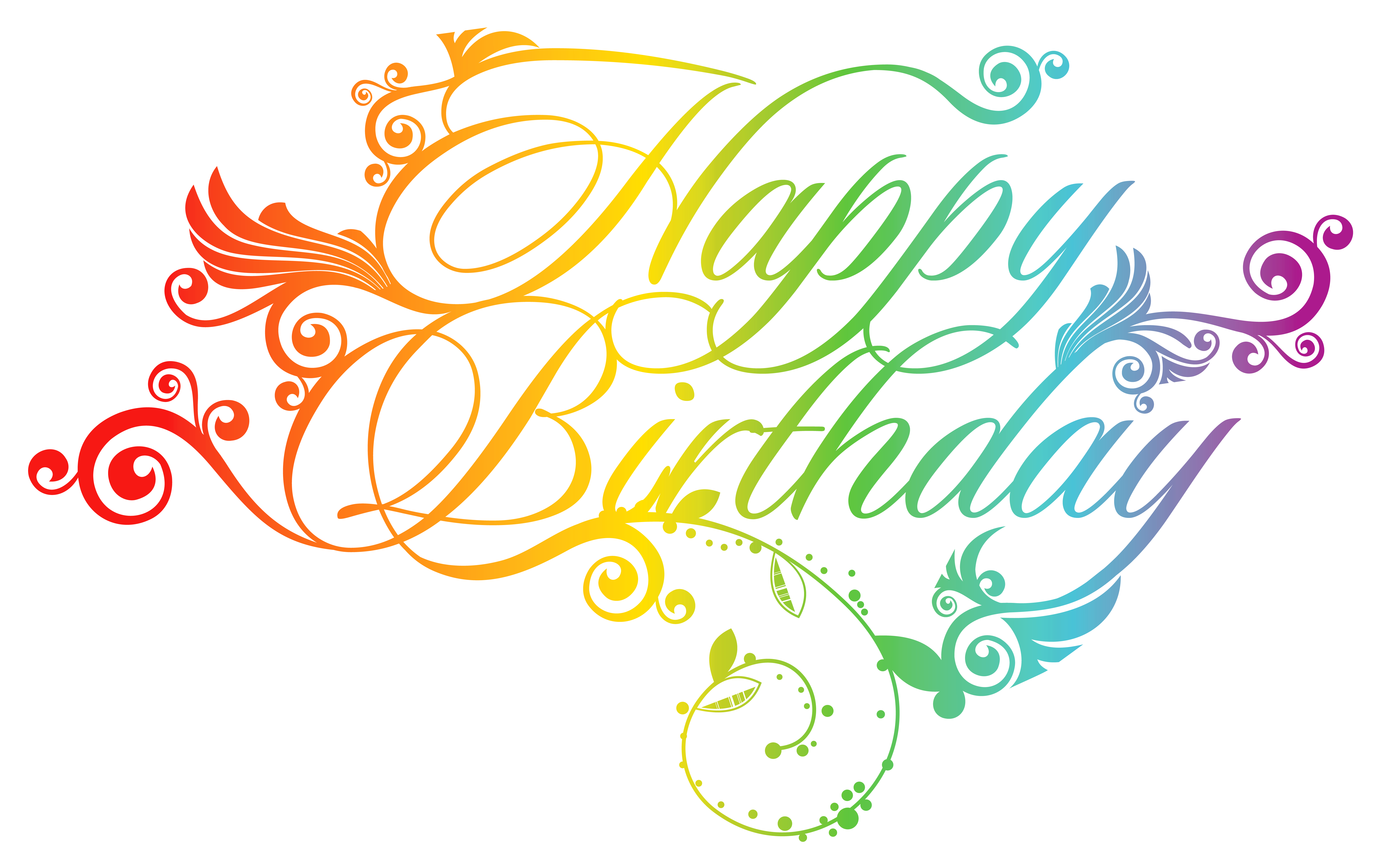 Happy Birthday Text Png 2