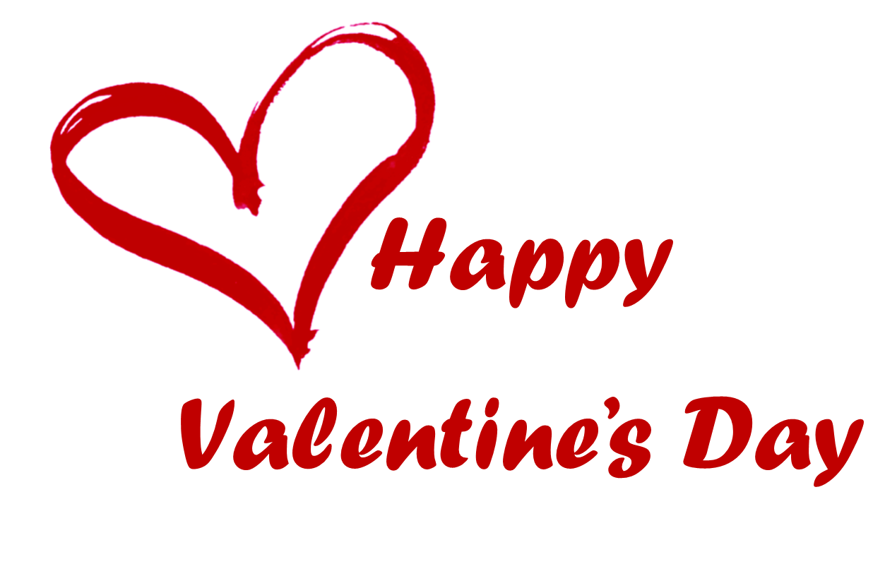 Happy Valentines Day Text Png 2 Png Image