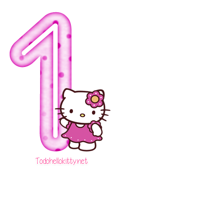 85d00d2ce Hello kitty number 1 png 4 » PNG Image