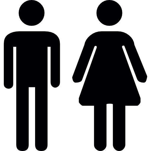 Hombre Y Mujer Dibujo Png Png Image
