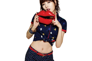 hyuna red png 1