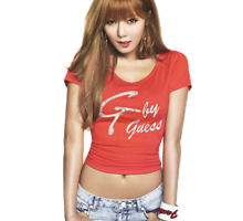 hyuna red png 3