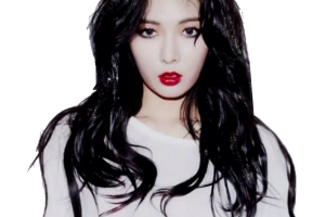 hyuna red png 4