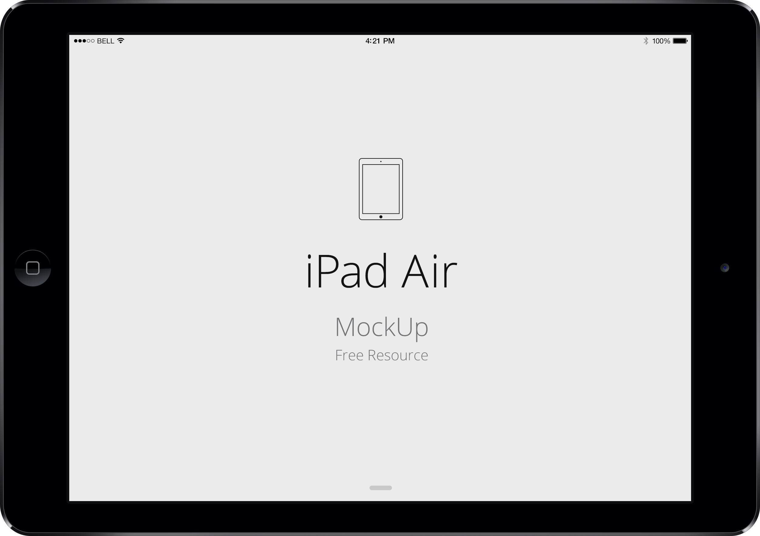 Ipad Air Mockup Png 5 Png Image