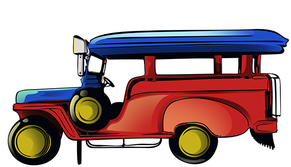 Jeepney Cartoon Png 3 Png Image