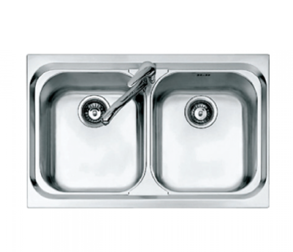 Kitchen sink top view png 5