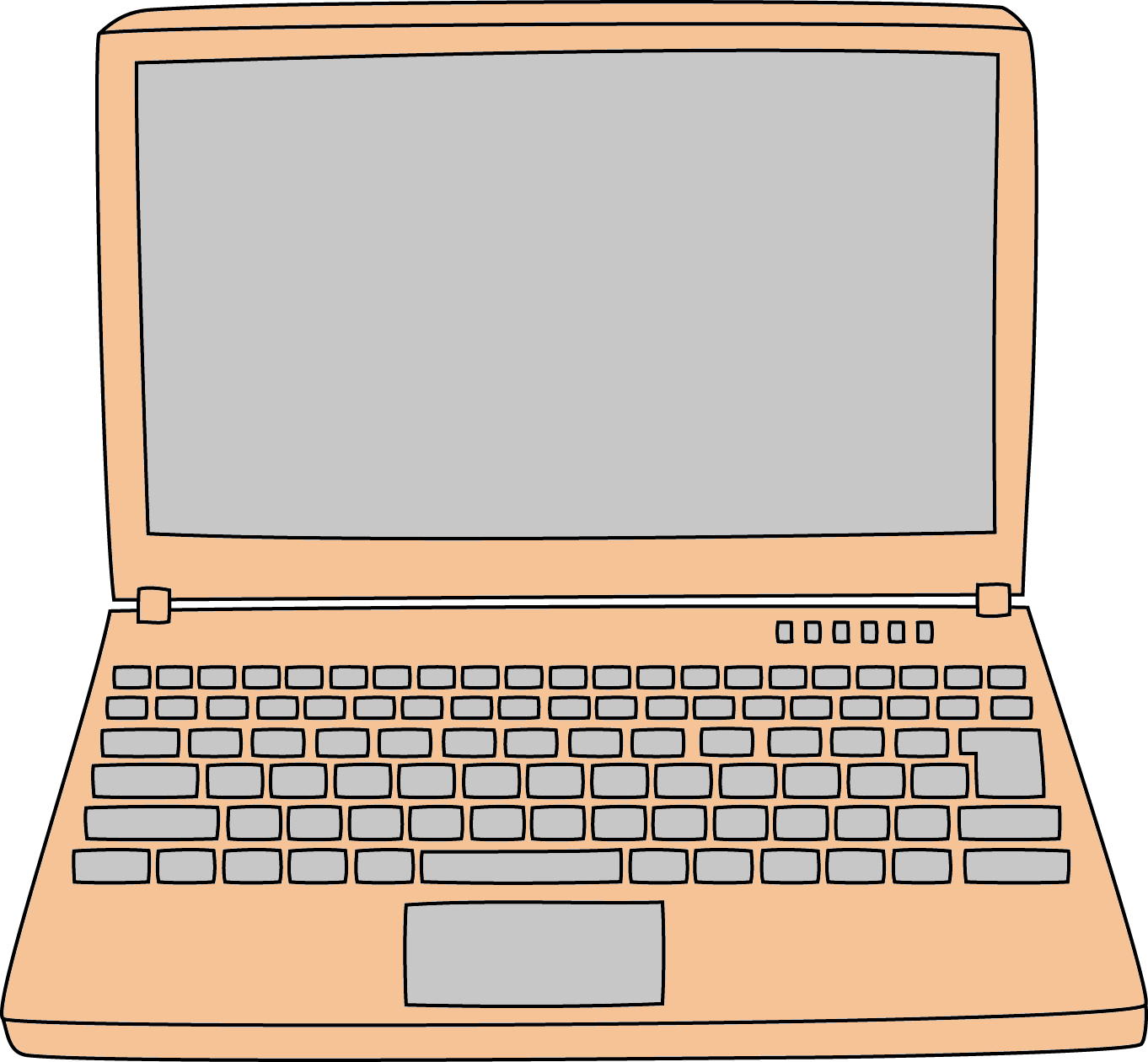 Laptop Animasi Png 1 PNG Image