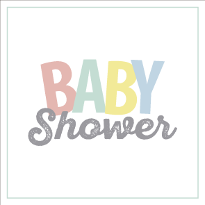 Letras Mi Baby Shower Png 3 Png Image
