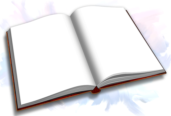 Livre Ouvert Page Blanche Png 2 Png Image
