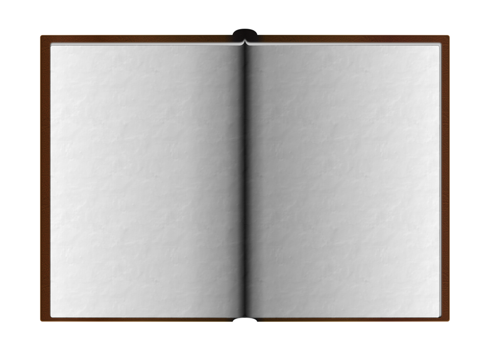 Livre Ouvert Page Blanche Png 7 Png Image