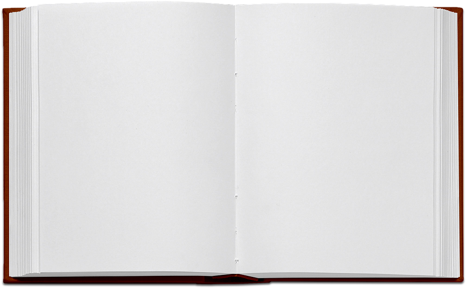 Livre Ouvert Page Blanche Png 8 Png Image