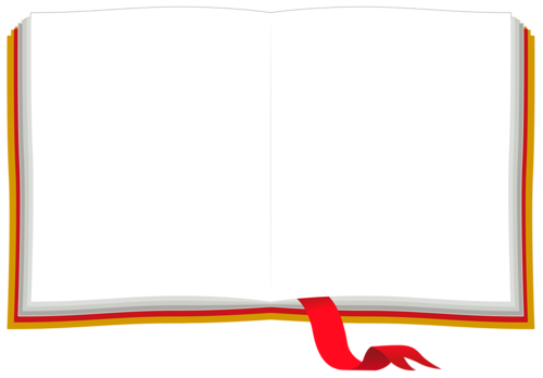 Livre Ouvert Page Blanche Png Png Image