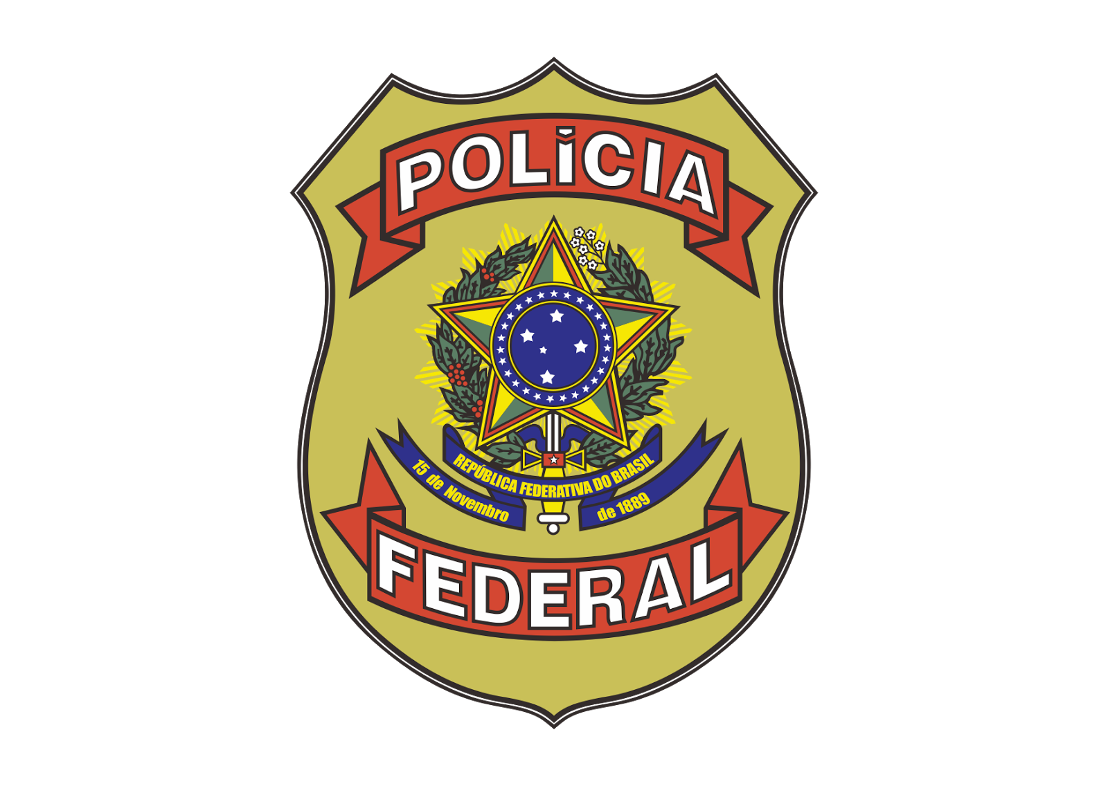 logo policia federal png 4 png image