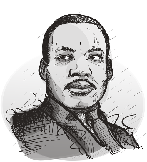 Martin Luther King Png 7 Png Image