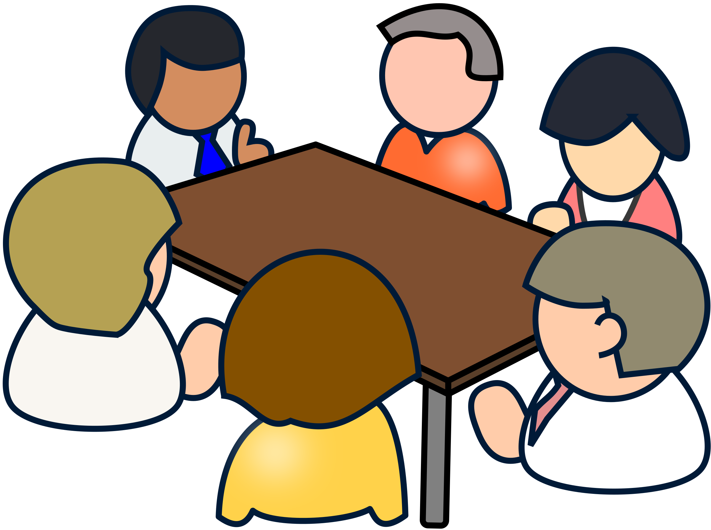 meeting cartoon png 2 png image