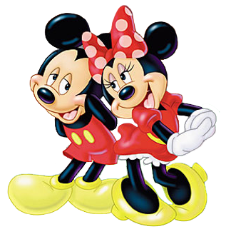 Mickey E Minnie Desenho Png 2 Png Image