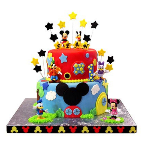 Peachy Mickey Mouse Birthday Cake 5 Png Image Personalised Birthday Cards Paralily Jamesorg