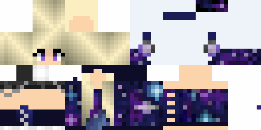Minecraft Girl Skin Png 2 Png Image