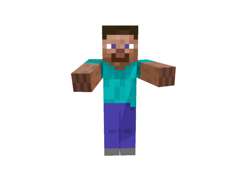 Minecraft Person Png Png Image