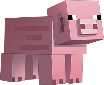 Minecraft Pig Png 6 Png Image