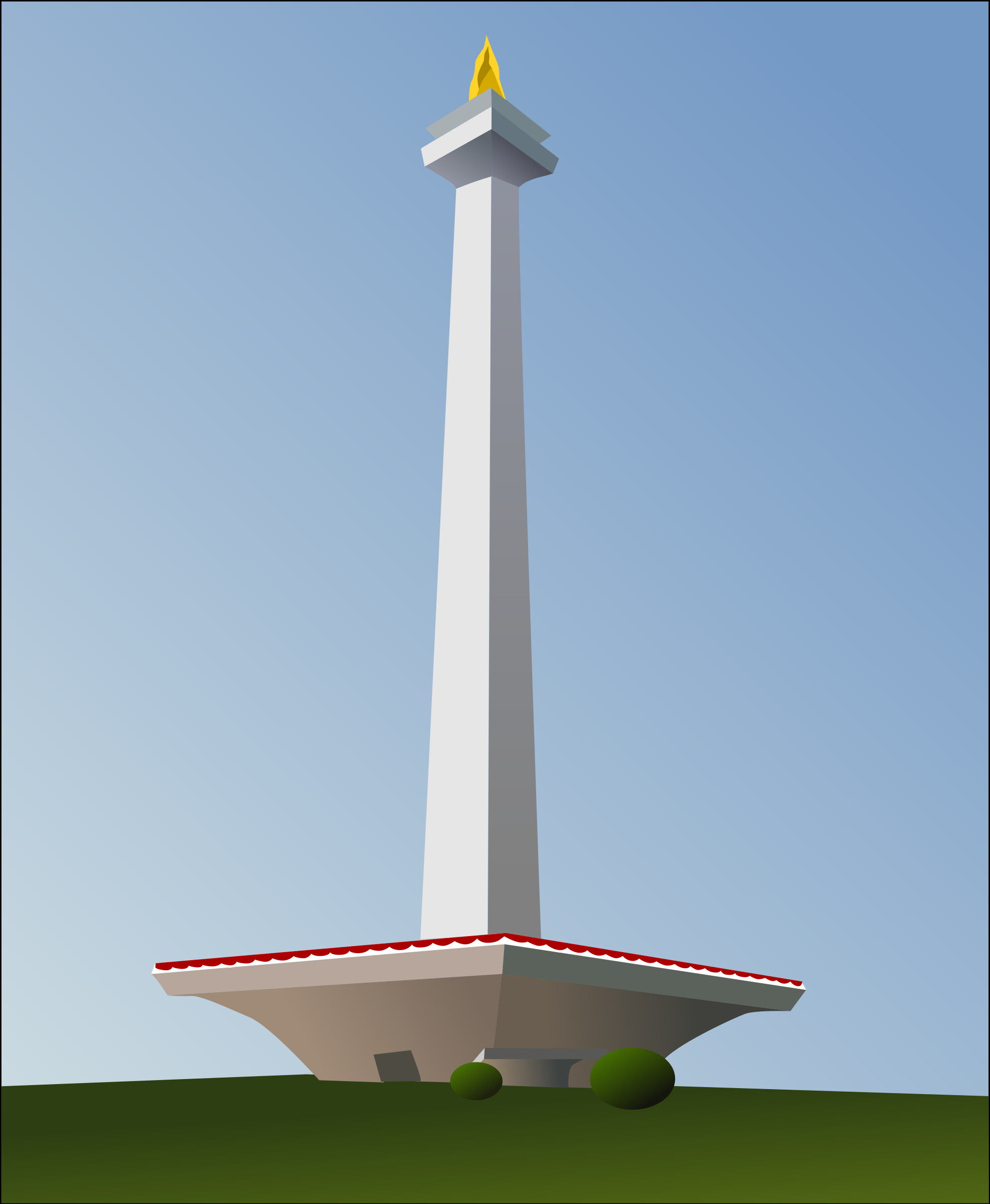 Monas Vector Png 1 PNG Image