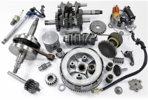 Motorcycle Spare Parts Png Png Image