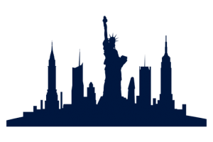 new york silhouette png