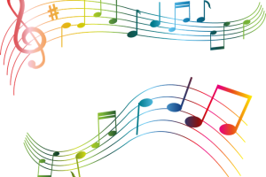 notas musicales colores png 6