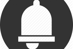 notification icon png black 6