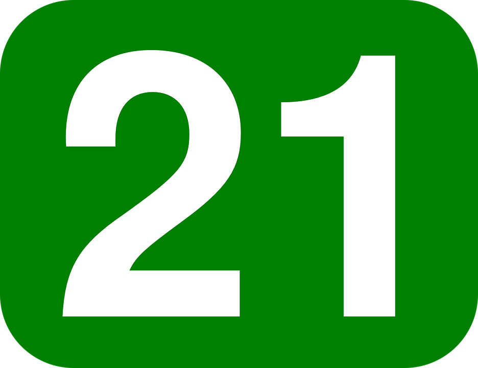numero 21 png 8 png image