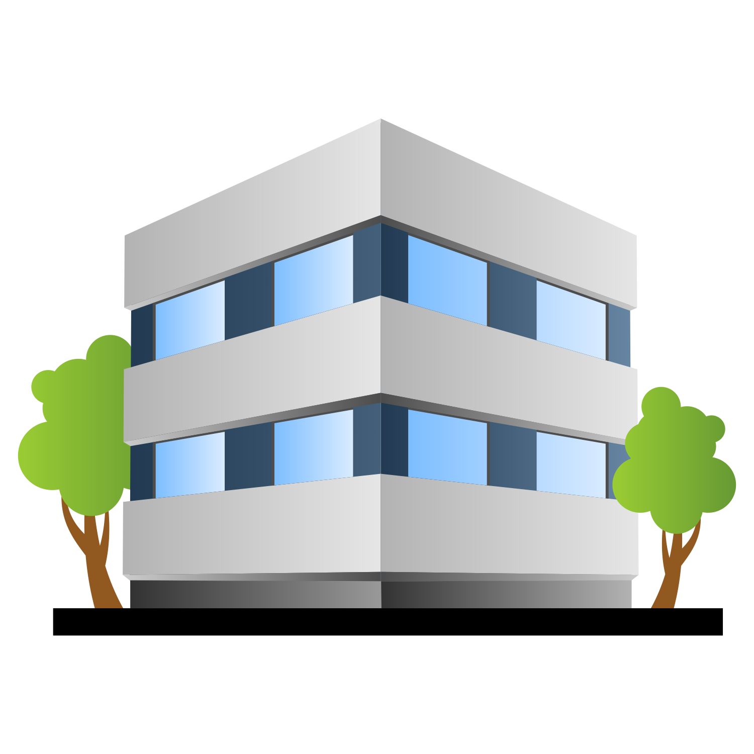 Office Building Png 6 Png Image
