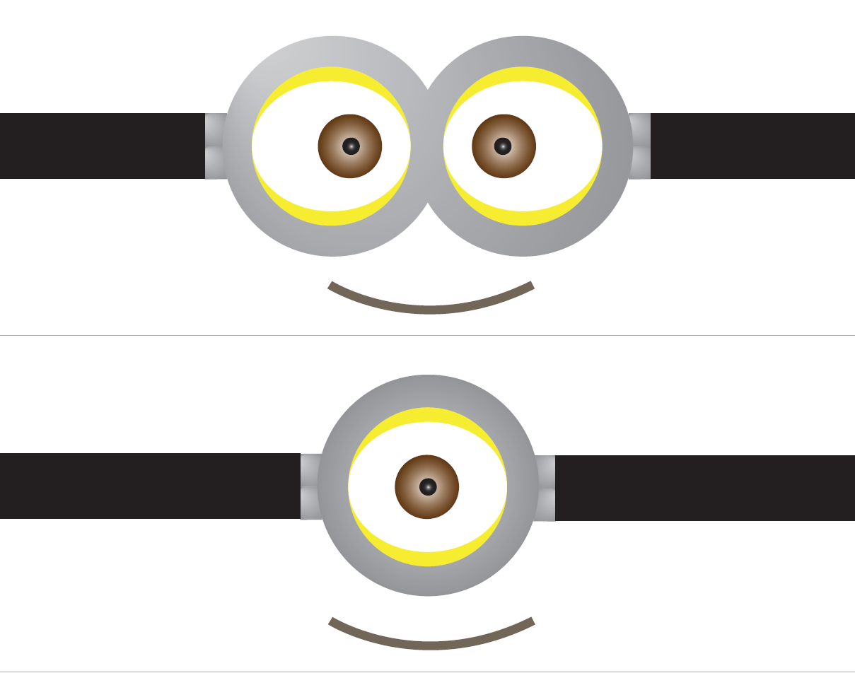 Ojos Minions Png 1 Png Image