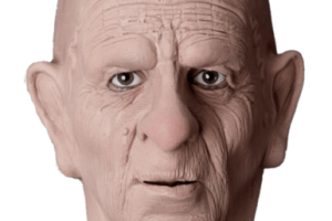 old man face png