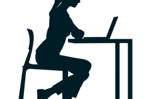 People Sitting At Table Silhouette Png 1 Png Image