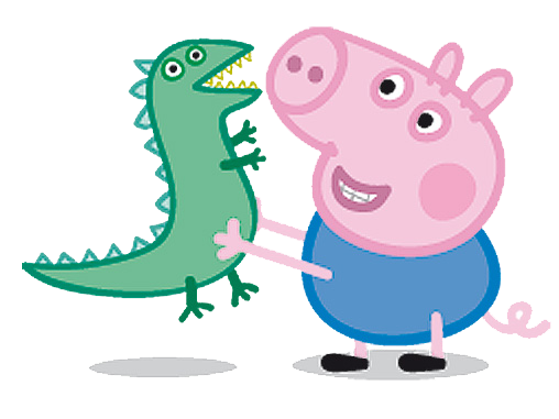Peppa E George Png 4 Png Image