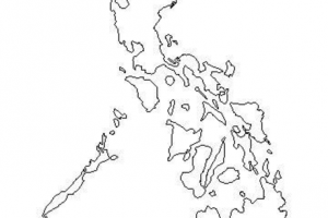 philippines map black png 4