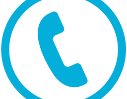 phone png icon blue 5