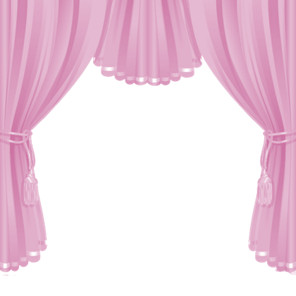 Pink Curtain Png Image
