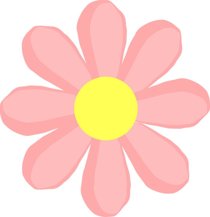 Pink Flower Vector Png 2 Png Image
