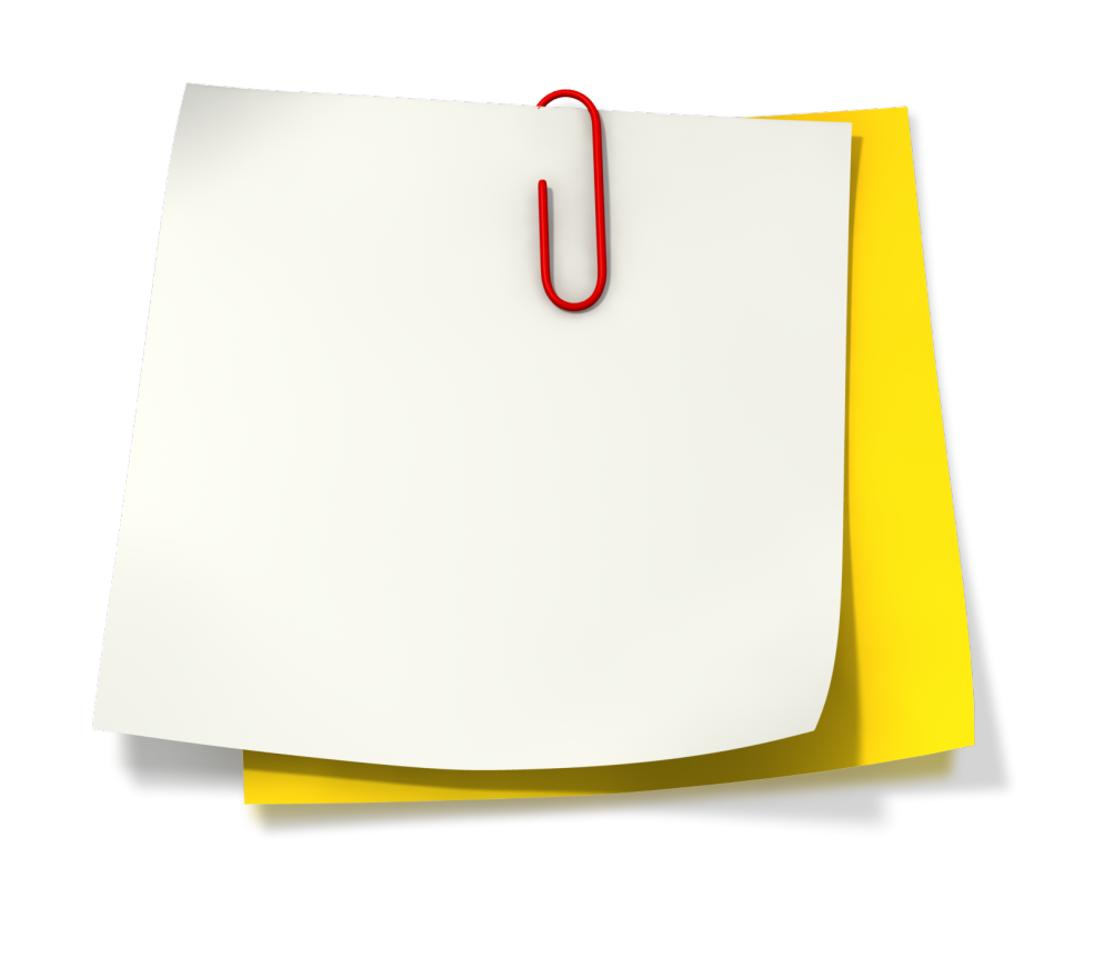 pinned notebook paper png 1