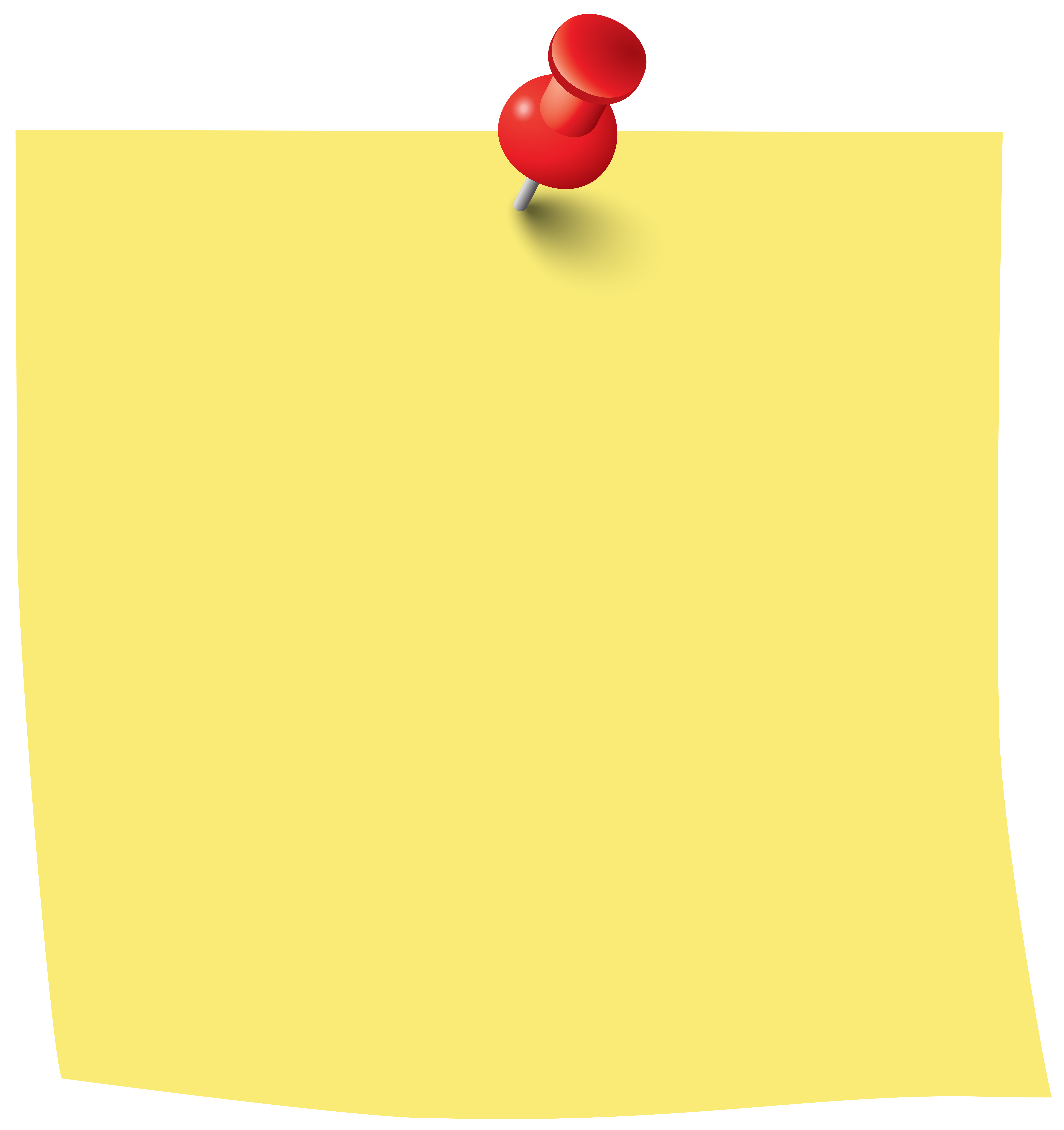 pinned notebook paper png 6