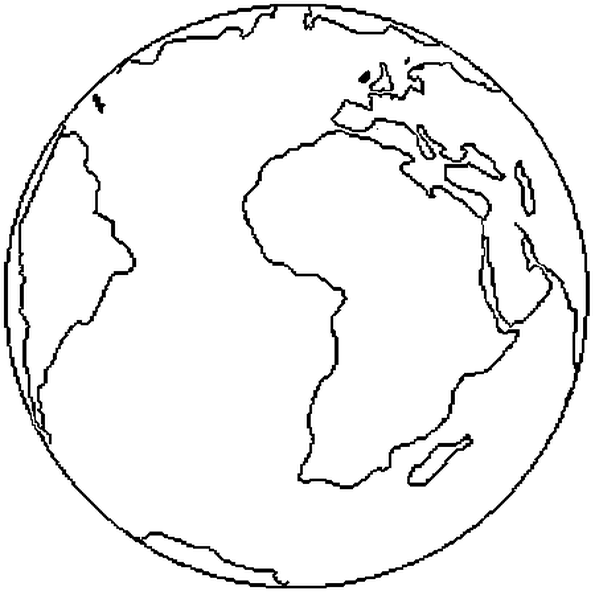 Planete Terre Dessin Png Png Image