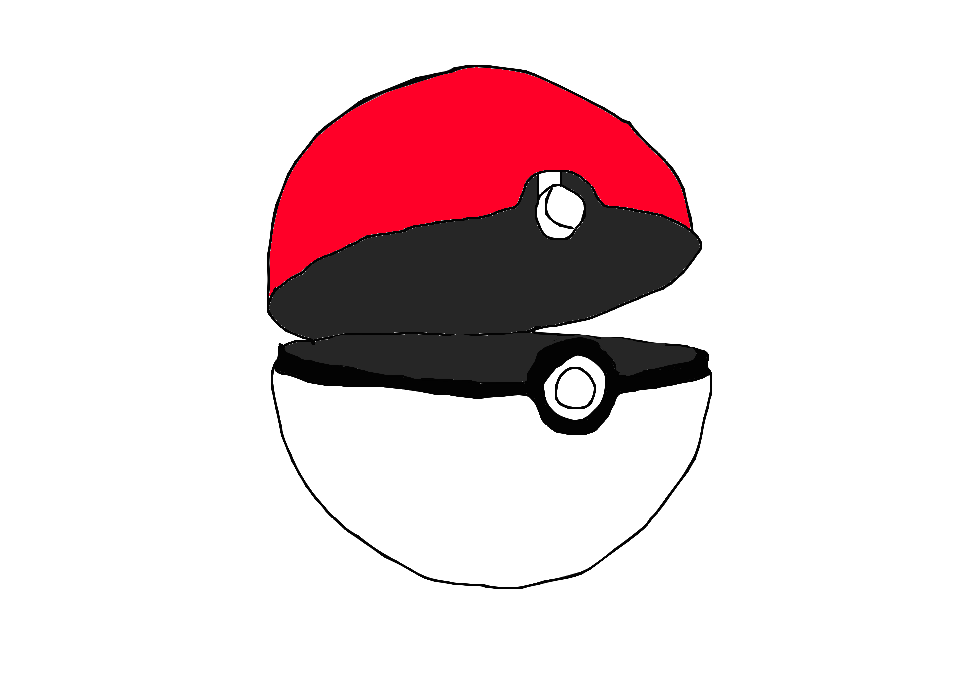 pokemon ball open png 3 png image