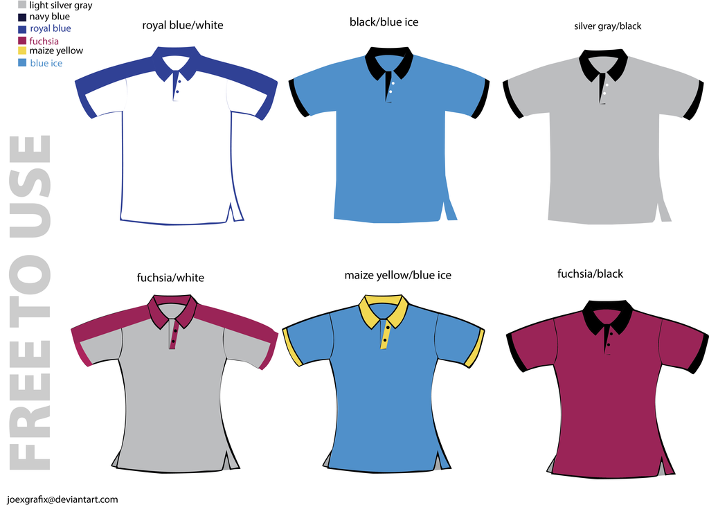 Polo Shirt Design Template Png 5 Image