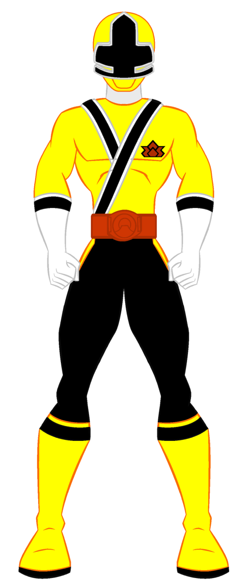 Power Rangers Amarelo Png 2 Png Image
