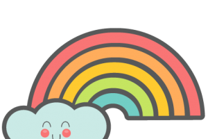 rainbow cute png 5